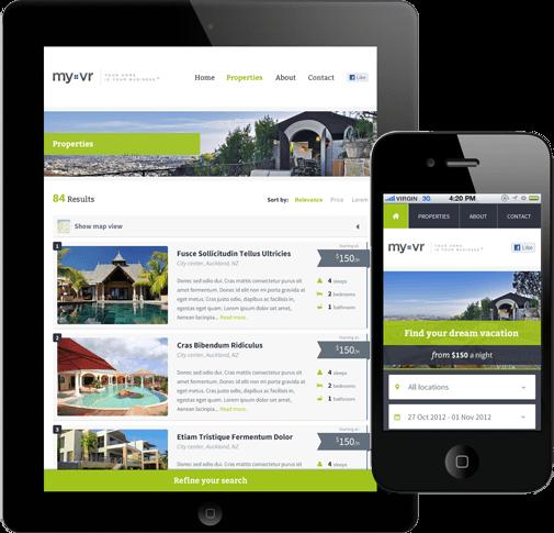 Rentals Websites: Vacation Rental Website Builder